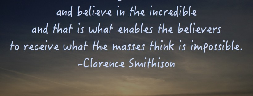 Clarence Smithison Quote